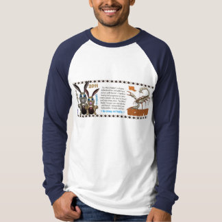 Valxart 1951 2011 2071 MetalRabbit zodiac Scorpio Tshirts