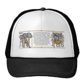 ValxArt 1961 Chinese zodiac Metal bull-Ox born leo Mesh Hats