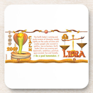 Valxart 1989 2049 EarthSnake zodiac Libra Coaster