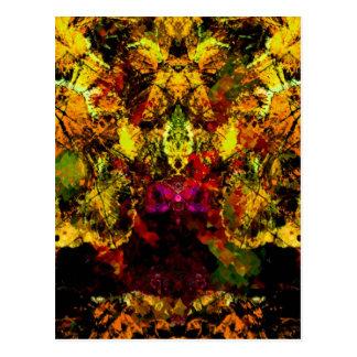 Valxart abstract animals postcards