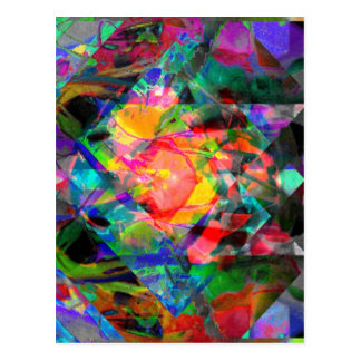 Valxart Adsnack abstract Post Cards