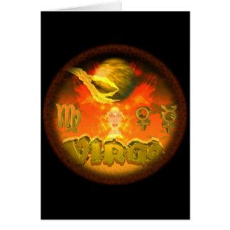 Valxart creepy zodiac Virgo Card