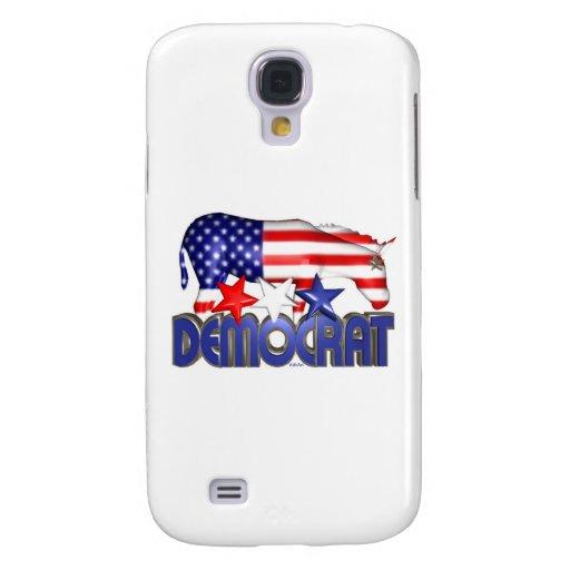 ValxArt Democratic USA flag donkey Galaxy S4 Cases