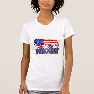 ValxArt Democratic USA flag donkey T Shirts