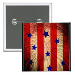 ValxArt fireworks flag abstract design Pin