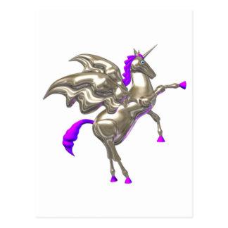 Valxart flying horse friendship designs post card