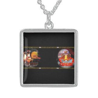 Valxart Gemincer is Gemini Cancer zodiac Cusp Necklace