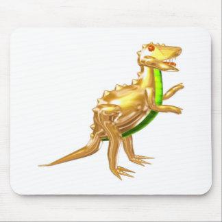 Valxart golden Trex dinosaur gifts Mouse Pad