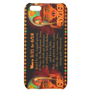 Valxart Gothic Aries zodiac astrology Case For iPhone 5C