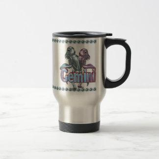 Valxart Pisces Gemini astrology friendship Stainless Steel Travel Mug