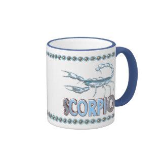 Valxart Pisces Scorpio astrology friendship Ringer Mug