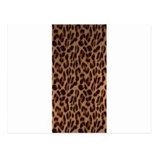 Valxart s Leopard skin illusion Post Cards