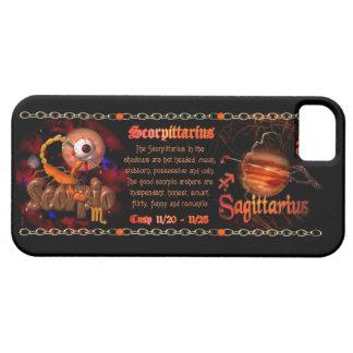 Valxart Scorpio Sagittarius zodiac Cusp Barely There iPhone 5 Case