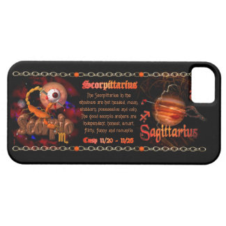 Valxart Scorpio Sagittarius zodiac Cusp iPhone 5 Cover