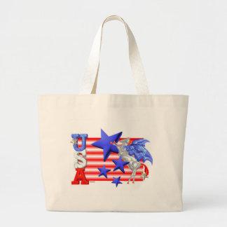 ValxArt USA FLYING HORSE Jumbo Tote Bag