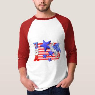 ValxArt USA FLYING HORSE T-Shirt