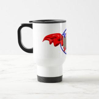 Valxart USA flying wings on white travel mug