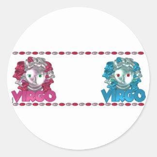 ValxArt Virgo Virgo zodiac signs friendship Stickers