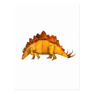 Valxart wood stegosaurus gifts postcards