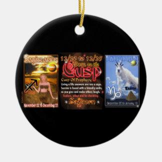 Valxart Zodiac Cusp Sagittarius Capricorn Christmas Ornament