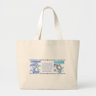 ValxArt zodiac water monkey Cancer born 1932 1992 Jumbo Tote Bag