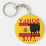 Vamos Rafa With Flag of Spain