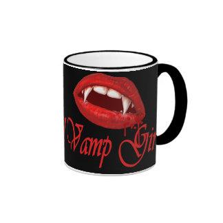 Vamp Girl Ringer Mug