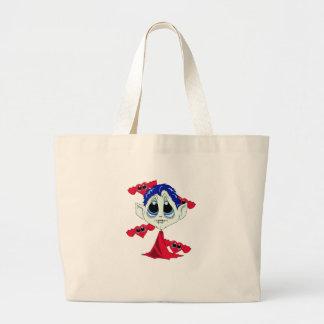 Vamp Heart Canvas Bag