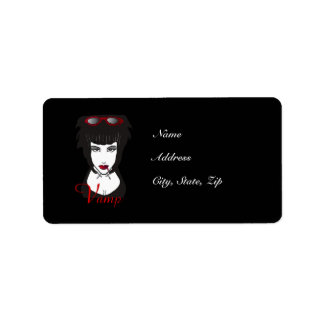 Vamp II Avery Label Address Label