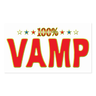Vamp Star Tag Pack Of Standard Business Cards