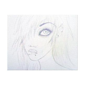 """""""Vampi"""" Original Artwork Gallery Wrap Canvas"""