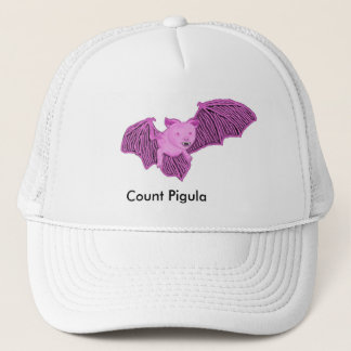 Vampimal Count Pigula Bat Form Trucker Hat