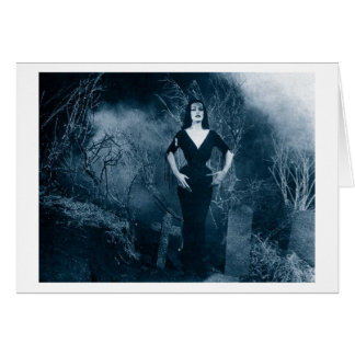 Vampira Greeting Card