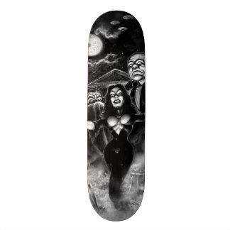 Vampira Plan 9 Ed Wood Skate Deck