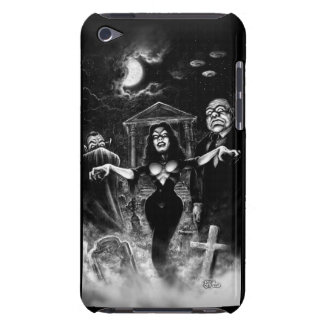 Vampira Plan 9 zombies iPod Case-Mate Cases