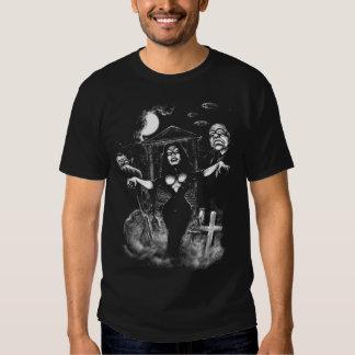 Vampira Plan 9 zombies Tshirts