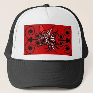 Vampire and Angels Trucker Hat