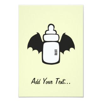Vampire Baby bottle Custom Invites