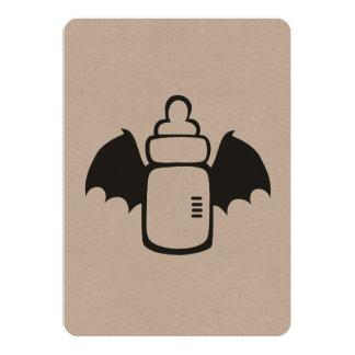 Vampire Baby bottle Invites