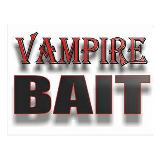 VAMPIRE BAIT POSTCARD