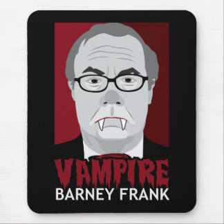 Vampire Barney Frank Mouse Pad
