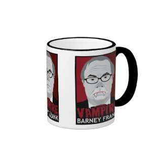 Vampire Barney Frank Ringer Mug