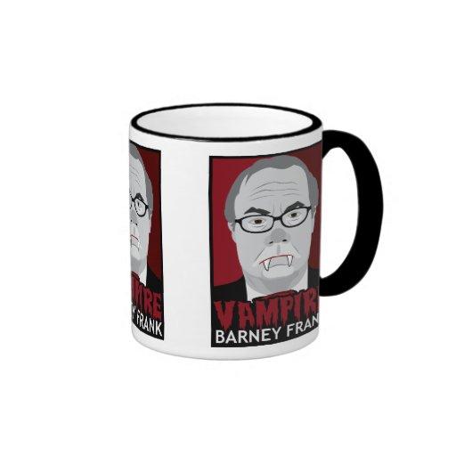 Vampire Barney Frank Mugs
