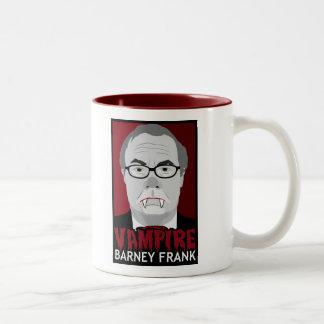 Vampire Barney Frank Two-Tone Mug