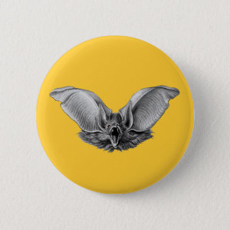 Vampire ? Bat ? 6 Cm Round Badge