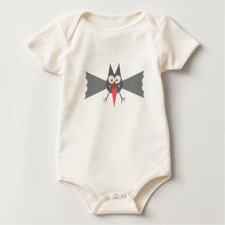 Vampire Bat by Chillee Wilson Baby Bodysuit