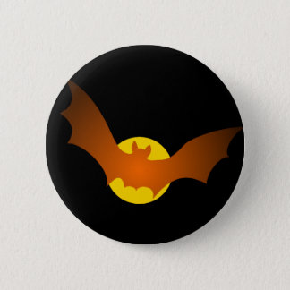 Vampire Bat Halloween 6 Cm Round Badge