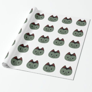 Vampire Bat Kids Wrapping Paper