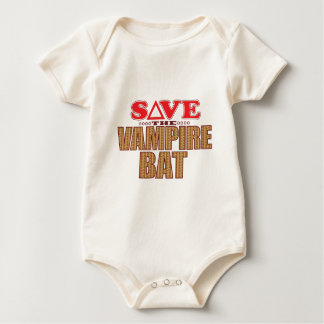 Vampire Bat Save Baby Bodysuit