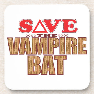 Vampire Bat Save Coaster